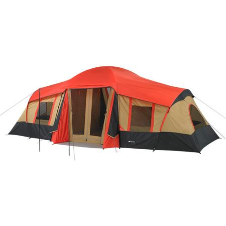 Ozark Trail 3-Room 10-Person Vacation Tent Red  sc 1 st  Get Survival Ready & Ozark Trail 3-Room 10-Person Vacation Tent Red u2013 Get Survival Ready